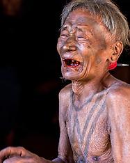 Male Portraits, Nagaland, India
