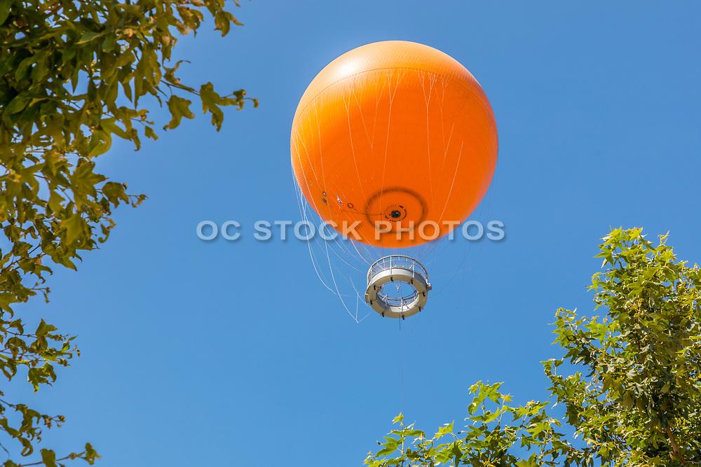 Orange Hot Air Balloon at Orange County Great Park