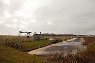 Lemsterrijn nabij het gemaal Polder Oosterzee - langs de A6, afslag N 924