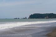 Rialto Beach, Olympic National Park, Washington, USA.
