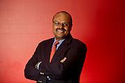 Editorial photography shoot of University of Arkansas dean of the College of Business, Dr. Eli Jones in Fayetteville, Arkansas.