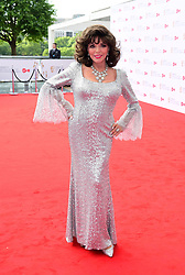Joan Collins arriving for the Virgin TV British Academy Television Awards 2017 held at Festival Hall at Southbank Centre, London.