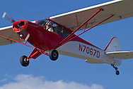 Middletown, New York - A single-engine airplane takes off from Randall Airport on April 12, 2014.