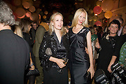 BAY GARNETT; CLAUDIA SCHIFFER, Vogue Fantastic  Fashion Fantasy Party in association with  Van Cleef and Arpels and to celebrate Vogue's secret address book. 1 Marylebone Rd. London. 3 November 2008 *** Local Caption *** -DO NOT ARCHIVE -Copyright Photograph by Dafydd Jones. 248 Clapham Rd. London SW9 0PZ. Tel 0207 820 0771. www.dafjones.com