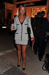 JACQUI PERTWEE at the launch of the Spencer Hart Flagship store, Brook Steet, London on 13th September 2011.