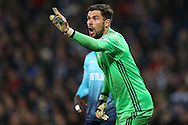 West Bromwich Albion goalkeeper Ben Foster looks on.Premier league match, West Bromwich Albion v Swansea city at the Hawthorns stadium in West Bromwich, Midlands on Wednesday 14th December 2016. pic by Andrew Orchard, Andrew Orchard sports photography.
