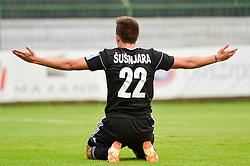 Luka Susnjara of NS Mura during football match between NS Mura and NK Domzale in 3rd Round of Prva liga Telekom Slovenije 2018/19, on Avgust 05, 2018 in Mestni stadion Fazanerija, Murska Sobota, Slovenia. Photo by Mario Horvat / Sportida
