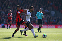 Football - 2016 / 2017 Premier League - AFC Bournemouth vs. Tottenham Hotspur<br /> <br /> Moussa Dembele of Tottenham Hotspur holds off Bournemouth's Joshua King at Dean Court (The Vitality Stadium) Bournemouth<br /> <br /> COLORSPORT/SHAUN BOGGUST