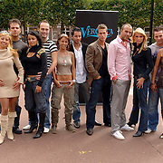 NLD/Amsterdam/20060904 - Perspresentatie undercover Lover, alle deelnemers