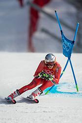 18-02-2018 KOR: Olympic Games day 9, Pyeongchang<br /> Alpine Skiing Men's Giant Slalom at Yongpyong Alpine Centre / Henrik Kristoffersen of Norway