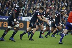 France's Anthony Belleau during a rugby friendly Test match, France vs New-Zealand in Stade de France, St-Denis, France, on November 11th, 2017. France New-Zealand won 38-18. Photo by Henri Szwarc/ABACAPRESS.COM