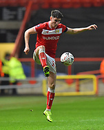 Callum O'Dowda (11) of Bristol City brings the ball under control during the The FA Cup fourth round match between Bristol City and Bolton Wanderers at Ashton Gate, Bristol, England on 25 January 2019.