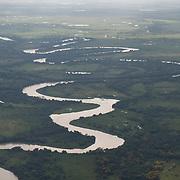 The Cuiaba river, Pantanal, Brazil