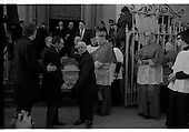 1975 - Funeral Of Sinead Bean DeValera.     (H82)