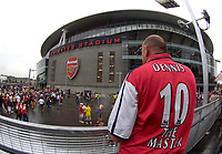 Photo: Daniel Hambury.<br />Arsenal v Ajax. Dennis Bergkamp Testimonial. 22/07/2006.<br />Arsenal's fans come to watch one of their heros play his last game.