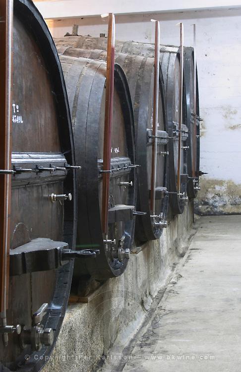 wooden vats quinta do vallado douro portugal