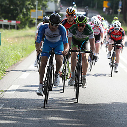18-06-2017: Wielrennen: NK Paracycling: Montferlands-Heerenberg (NED) wielrennen  <br /> Stijn Boersma (Spankeren) op kop van de groep