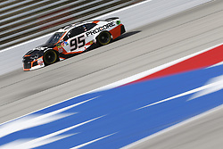 November 3, 2018 - Ft. Worth, Texas, United States of America - Regan Smith (95) takes to the track to practice for the AAA Texas 500 at Texas Motor Speedway in Ft. Worth, Texas. (Credit Image: © Justin R. Noe Asp Inc/ASP via ZUMA Wire)