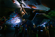 Boulders Lights Out climbing event in Madison, WI on 20190329.