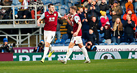 Football - 2019 / 2020 Premier League - Burnley vs. Leicester City<br /> <br /> Chris Wood of Burnley at Turf Moor.<br /> <br /> COLORSPORT