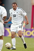 FOTBALL - CONFEDERATIONS CUP 2003 - GROUP A - 030618 - NEW ZEALAND v JAPAN - CHRIS JACKSON (ZEA) - PHOTO STEPHANE MANTEY / DIGITALSPORT