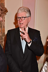 Michael Cole at a reception to celebrate the publication on 'Mother Anguish' by Basia Briggs held in The Music Room, The Ritz Hotel, 150 Piccadilly, London, England. 04 December 2017.