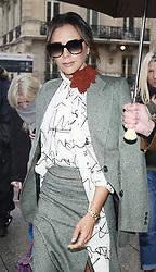 November 15, 2019, Paris, France: Designer VICTORIA BECKHAM seen in Paris.(Credit Image: © Panoramic via ZUMA Press)