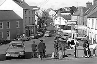 Ardara, Co Donegal, Ireland, Main Street, travel, tourism, holidays, 19820800121w..Copyright Image from Victor Patterson, 54 Dorchester Park, Belfast, UK, BT9 6RJ.  Tel: +44 28 90661296  Mobile: +44 7802 353836.Email: victorpatterson@me.com Email: victorpatterson@gmail.com..For my Terms and Conditions of Use go to http://www.victorpatterson.com/ and click on Terms & Conditions