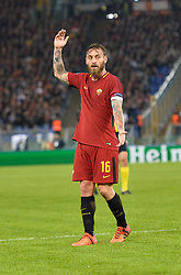 October 31, 2017 - Rome, Italy - Daniele De Rossi, during the Champions League football match A.S. Roma vs Chelsea Football Club at the Olympic Stadium in Rome, on october 31, 2017. (Credit Image: © Silvia Lore/NurPhoto via ZUMA Press)