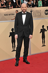 Paul Scheer arrives at the 24th annual Screen Actors Guild Awards at The Shrine Exposition Center on January 21, 2018 in Los Angeles, California. <br /><br />(Photo by Sthanlee Mirador/Sipa USA)