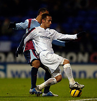Photo: Jed Wee.<br /> Bolton Wanderers v Sevilla. UEFA Cup. 14/12/2005.<br /> <br /> Bolton's Hidetoshi Nakata controls the ball.