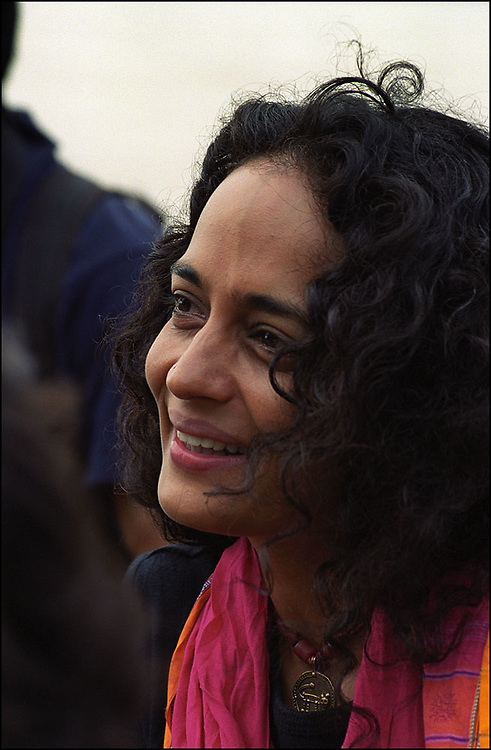 Indian author and political activist