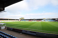 Scunthorpe United ground Glanford Park before the Sky Bet League 1 match between Scunthorpe United and Barnsley at Glanford Park, Scunthorpe, England on 31 October 2015. Photo by Ian Lyall.