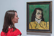 Self Portrait, 1944 - Princess Fahrelnissa Zeid: the UK's first retrospective of a pioneering artist best known for her large-scale colourful canvases, fusing European approaches to abstract art with Byzantine, Islamic and Persian influences. The exhibition is at Tate Modern from 13 June – 8 October 2017.