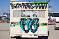 Painted Trailer Artist Name Unknown My Burning Man 2019 Photos:<br />