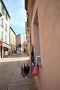 street scene Saint-Tropez, France