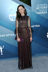 Alexis Bledel at the 26th Annual Screen Actors Guild Awards held at the Shrine Auditorium in Los Angeles, USA on January 19, 2020.