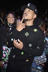 Rosario Dawson und Chance the Rapper beim Kenzo x H&M Collection Launch Event am Pier 36. New York / 191016<br /> <br /> *** Kenzo x H&M Collection Launch Event at Pier 36. in New York, USA, October 19, 2016 ***
