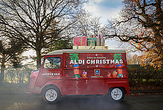 Aldi Christmas Van