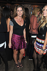 FRANCESCA VERSACE at a party to celebrate the opening of the Muzungu Sisters Pop Up Store at Momo - an ethically sourced fashion brand  held at Momo, 25 Heddon Street, London on 27th October 2011.