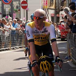 26-05-2016: Wielrennen: Giro d Italia: Pinerelo<br /> PINERLO (ITA) wielrennen<br /> Jos van Emden