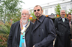 Left to right, SIR PETER BLAKE and RINGO STARR at the 2013 RHS Chelsea Flower Show held in the grounds of the Royal Hospital, Chelsea on 20th May 2013.