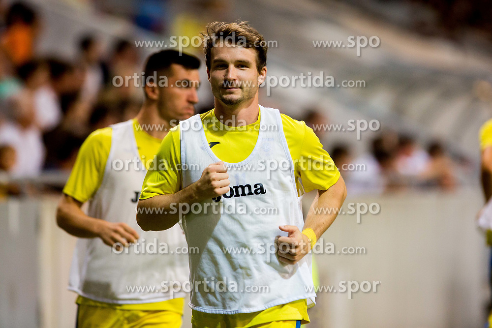 Jure Matjasic of NK Domzale during football match between NK Domzale and Olympique de Marseille in First game of UEFA Europa League playoff round, on August 17, 2017 in SRC Stozice, Ljubljana, Slovenia. Photo by Ziga Zupan / Sportida