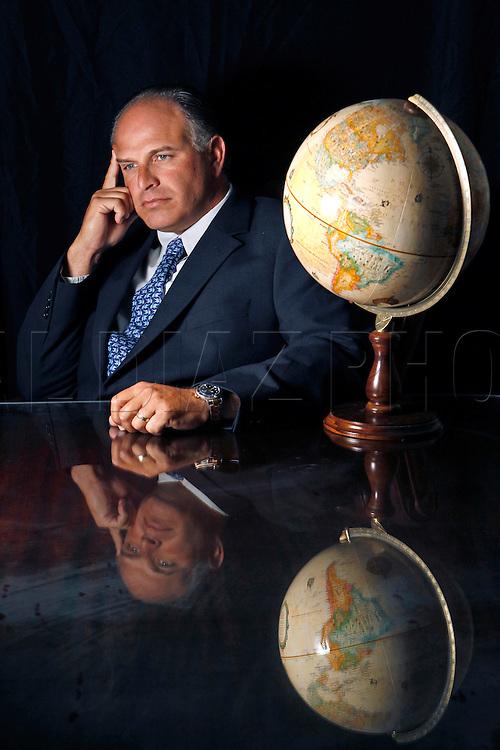 Attorney Joe Zumpano at the offices of  Zumpano Patricios & Winker in Coral Gables.