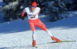 Slovenian cross-country skier Domen Potocnik at 10th OPA - Continental Cup 2008-2009, on January 17, 2009, in Rogla, Slovenia.  (Photo by Vid Ponikvar / Sportida)