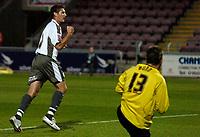 Photo: Richard Lane.<br />Northampton Town v Bristol City. Coca Cola League 1. 29/08/2006. <br />City's Phil Jevons celebrates scoring a penalty.