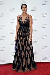 September 24, 2018 - New York, NY, USA - September 24, 2018  New York City..Padma Lakshmi attending Metropolitan Opera Opening Night at Lincoln Center on September 24, 2018 in New York City. (Credit Image: © Kristin Callahan/Ace Pictures via ZUMA Press)