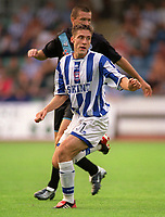 Chris McPhee (Brighton). Brighton & Hove Albion v Leicester City. 4/8/2003. Pre Season friendly match. Credit : Colorsport/Andrew Cowie