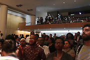 BROOKLYN, NEW YORK- AUGUST 9: Audience attends the book release for ' She Begat This: 20 Years of The Miseducation of Lauryn Hill' by Joan Morgan which examines the the artist's musical and cultural legacy held August 9, 2018 at the Brooklyn Museum.  (Photo by Terrence Jennings/terrencejennings.com)