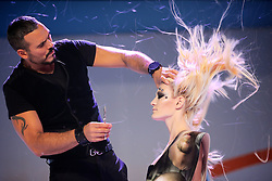 Fashion Show Viktor I durante a Hair Brasil 2013 - 12 ª Feira Internacional de Beleza, Cabelos e Estética, que acontece de 06 a 09 de abril no Expocenter Norte, em São Paulo. FOTO: Jefferson Bernardes/Preview.com